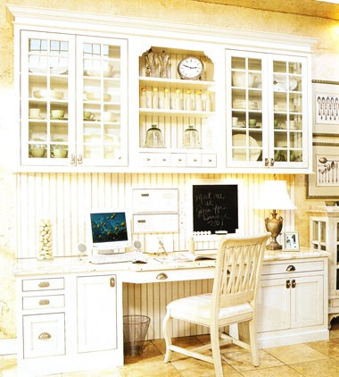 How to keep your kitchen office organized yes you can for Home office in kitchen ideas