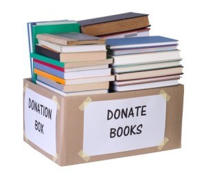 declutter-bookcase