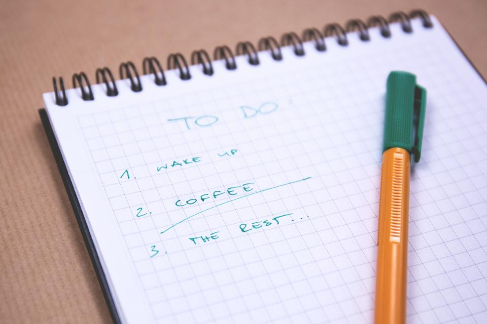 How do you manage all of your tasks or to-dos? Don't procrastinate