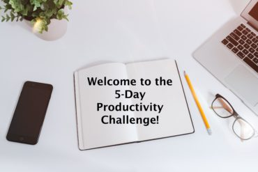 Join our 5-day productivity challenge