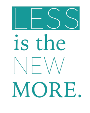 Inspirational Quotes For Decluttering Less Is More 700 Simply Placed