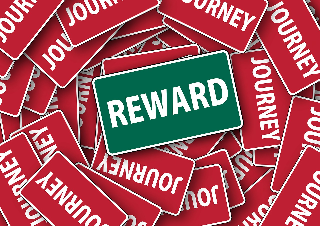 Using Rewards to Help Reach Goals
