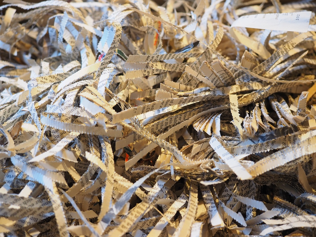 upcoming shredding and recycling events