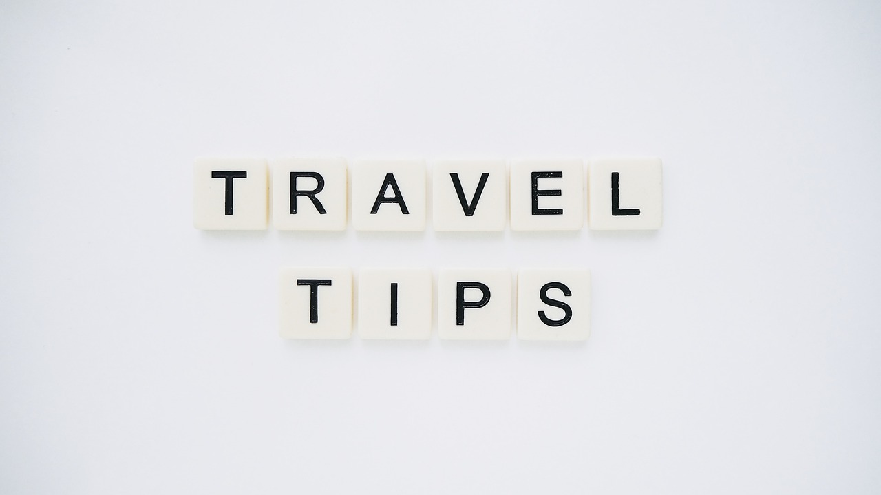 Organized travel tips for less stress