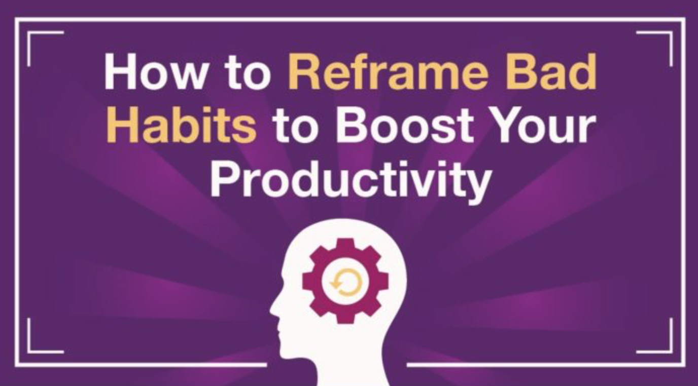 Reframing habits to boost productivity