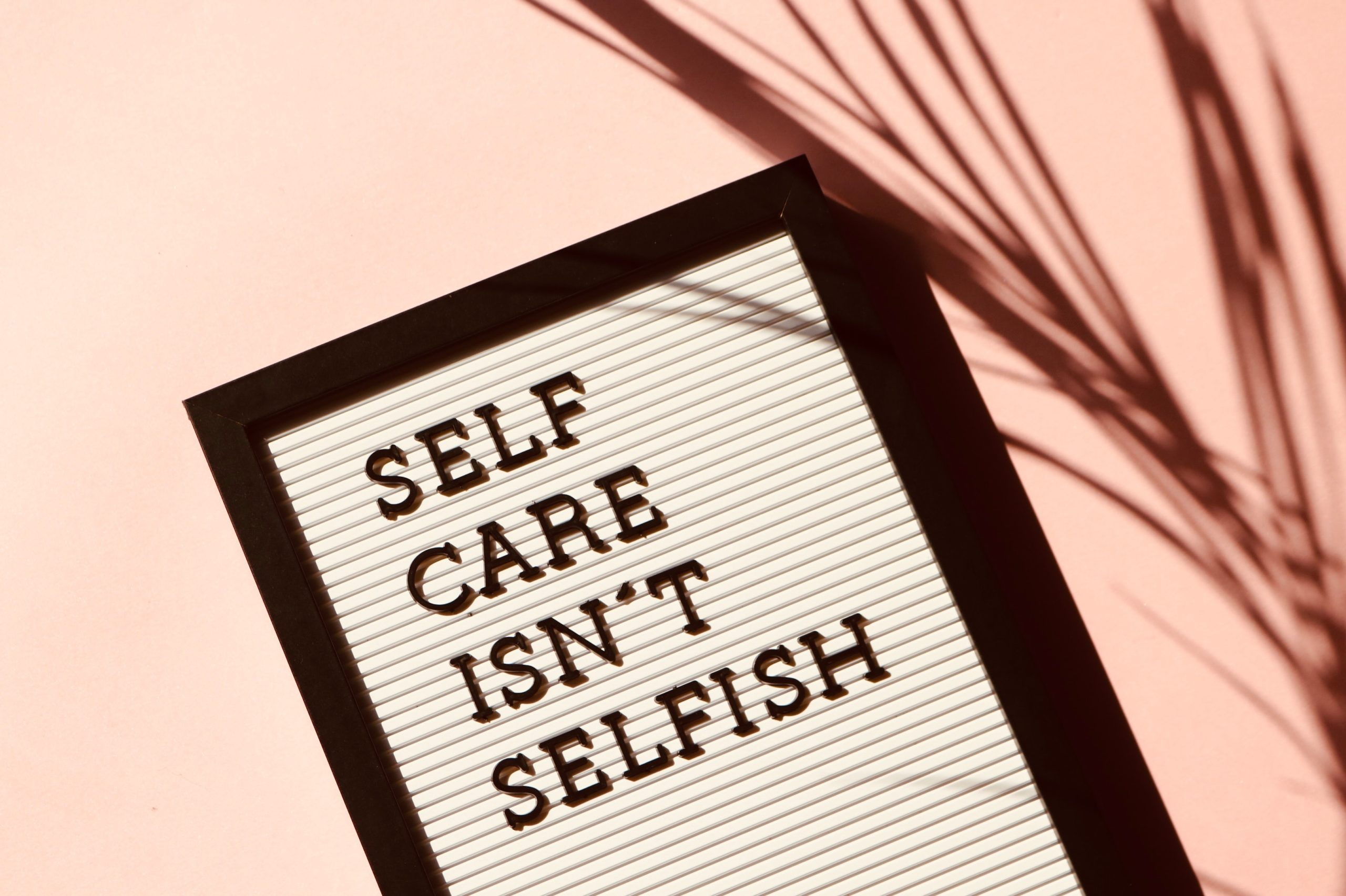 Self care is a productivity strategy, too
