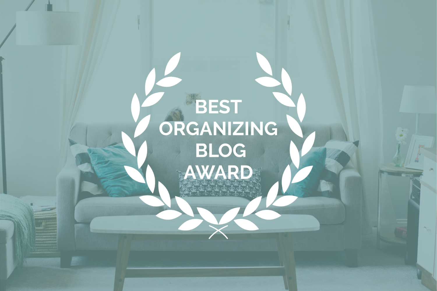 Best Organizing Blog Award for Simply Placed